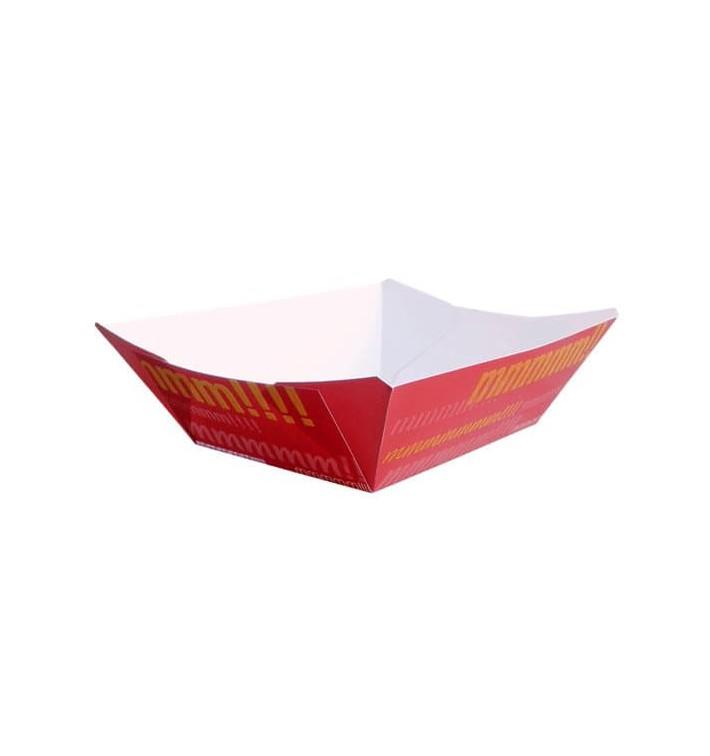 Pommesschale Pappe 300ml 11x7x3,5cm (1.000 Stück)