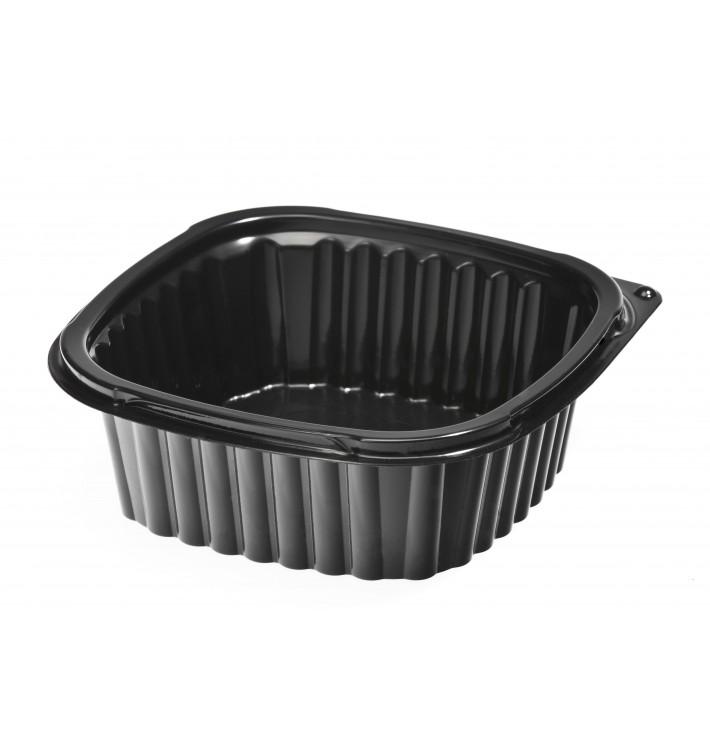 Plastikbehälter Viereckig schwarz 500ml (900 Stück)