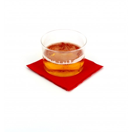 "Papierservietten ""Cocktail"" rot 20x20cm (3.000 Einh.)"