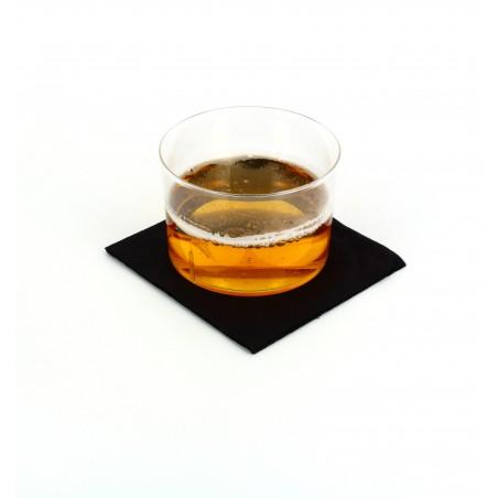 """Papierservietten """"Cocktail"""" schwarz 20x20cm (3.000 Einh.)"""