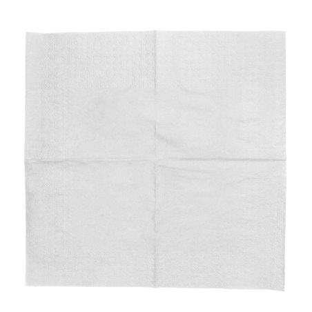 """Papierservietten """"Cocktail"""" weiß 20x20cm (100 Einh.)"""
