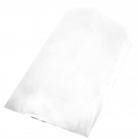 Papiertüten weiß 14+7x24cm (250 Einh.)