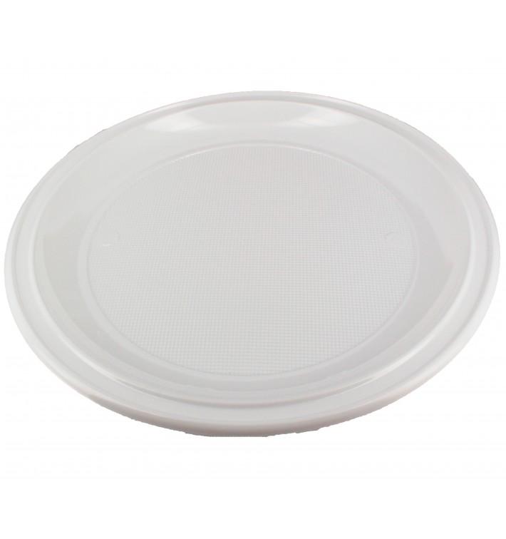 Plastikteller für Pizza weiß 280mm