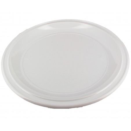 Plastikteller für Pizzas weiß 280mm (400 Einheiten)
