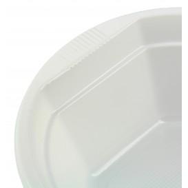 Weiße Plastikschale 250ml (100 Einheiten)