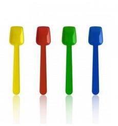 Kleiner Eislöffel aus Plastik flach 90mm (10.000 Stück)