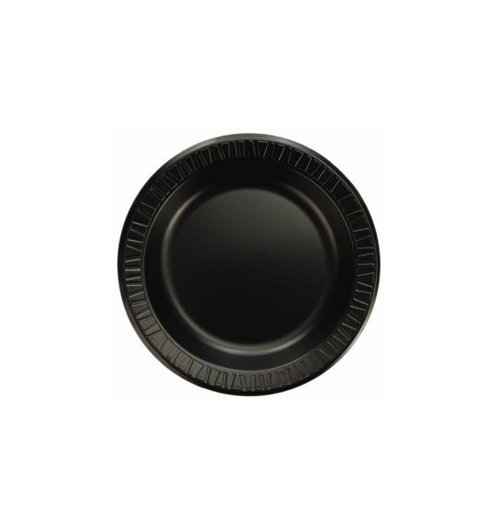 Termische Teller FOAM Schwarz 150 mm (1.000 Einh.)