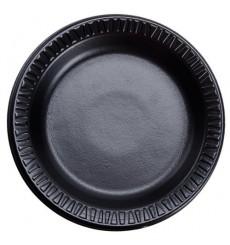 Termische Teller FOAM Schwarz 180 mm (1.000 Einh.)