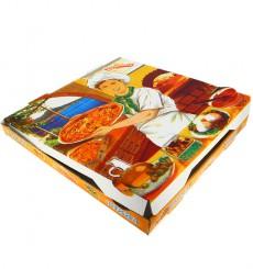 """Pizzakartons 30x30x3,5cm """"Vegetal"""" (100 Stück)"""