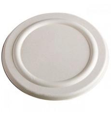 Deckel Zuckerrohr Weiß für Suppenbecher 425ml Ø95mm (600 Stück)