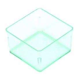 Plastik Würfel für sauce Transp. 4,2x4,2cm (576 Einh.)