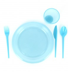 Plastiklöffel Blau 165mm (900 Stück)