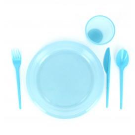 Plastikmesser Blau 165mm (900 Einheiten)