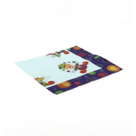 Papierservietten Clown Design 33x33cm (500 Einheiten)