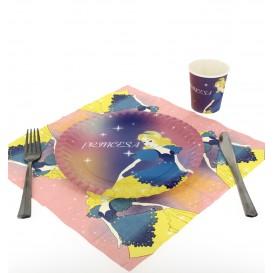 Papierservietten Design Prinzessinen 33x33cm (500 Einheiten)