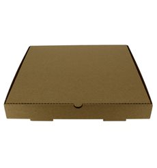 Pizzakartons 30x30x3,5cm Kraft (100 Stück)