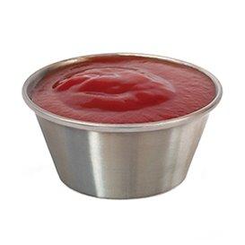 Edelstahl Behälter für Saucen 90ml (12 Einh.)