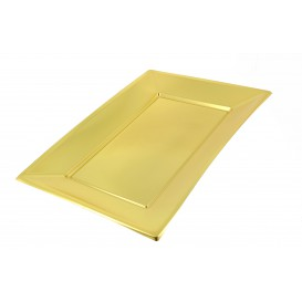 Plastiktablett Gold 330x225mm (12 Einh.)