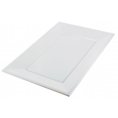 Plastiktablett weiß 330x225mm (3 Einh.)