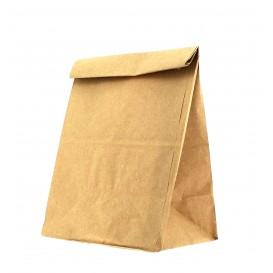 Papiertüten ohne Henkel Kraft braun 15+9x28cm (25 Stück)