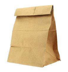 Papiertüten ohne Henkel Kraft braun 18+12x29cm (25 Stück)