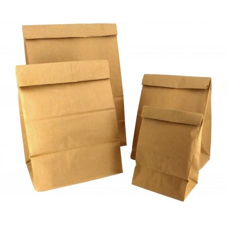 Papiertüten ohne Griff kraft-braun 20+16x40cm (500 Einh.)