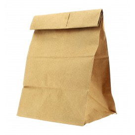 Papiertüten ohne Henkel Kraft braun 20+16x40cm (25 Stück)