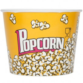 Popcorn box 5400ml 22.5x16x21cm (25 Einh.)