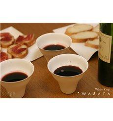 Wasara Becher Wine Cup Biologisch 335 ml (50 Einheiten)