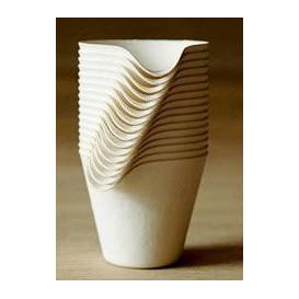 Wasara Becher Coffee Cup Biologisch 150 ml (50 Einheiten)