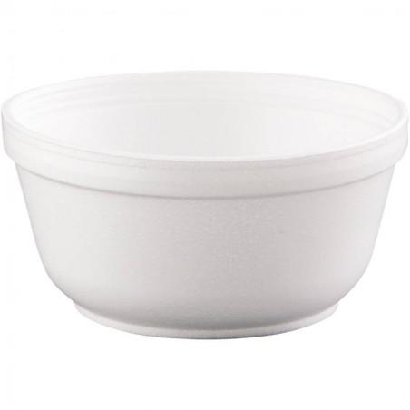 Styroporschale weiß 12OZ/360 ml Ø11,7cm (50 Stück)