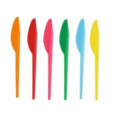Plastikmesser Gelb 165mm (15 Einheiten)