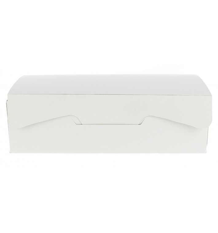 Gebäck Box weiß 20,4x15,8x6cm 1Kg (200 Stück)