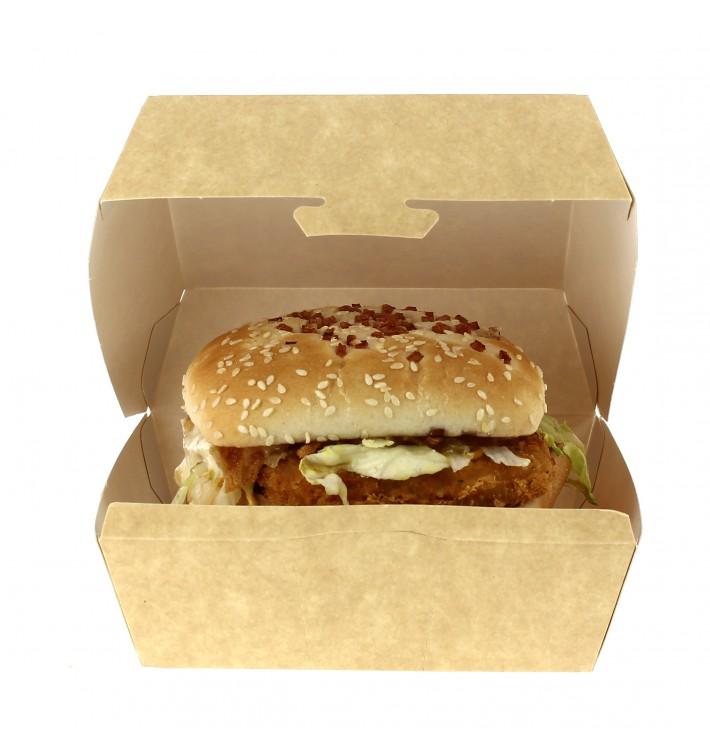 Hamburger box-Kraft-XXL 15,5x15,5x8cm (25 Einh.)