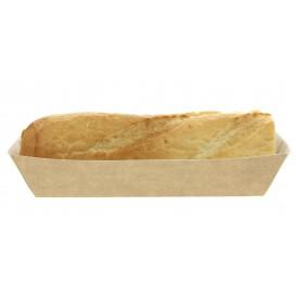 Hot-Dog-Tray Kraft 17x5,5x3,8cm (25 Einheiten)