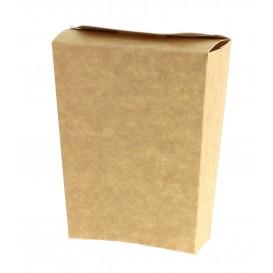 Geschlossene Pommes Box Kraft (25 Stück)