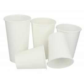 Karton Kaffeebecher to go weiß 10 Oz/300ml Ø8,4cm (50 Einh.)