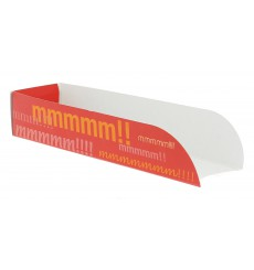 Hot-Dog Schachtel 17x5x3,5cm (100 Stück)