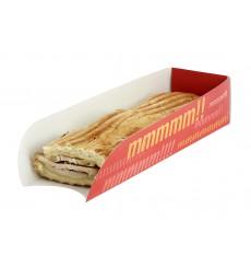 Hot-Dog Schachtel 17x5x3,5cm (1.000 Stück)