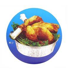 Pappdeckel für runde Aluschalen 1.900ml (125 Stück)