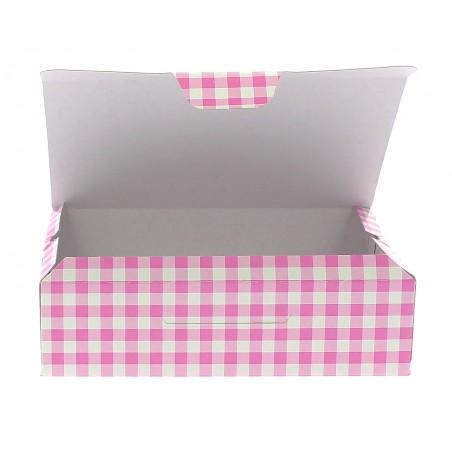Gebäck-karton pink 17,5x11,5x4,7cm (360 Einh.)