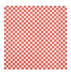 Wachspapier fettdicht für Burger Rot 31x38cm (4.000 Stück)