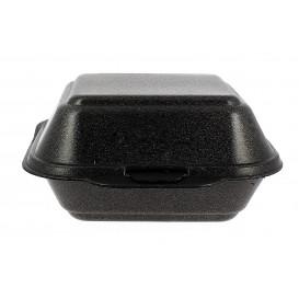 Burger-Box groß FOAM Schwarz (500 Einh.)
