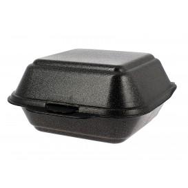 Burger-Box groß FOAM Schwarz (125 Einh.)