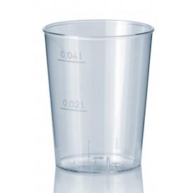 Schnapsglas aus Hartplastik Transparent 40ml (50 Stück)