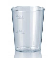 Transparente Plastikbecher 40ml (2.000 Einheiten)