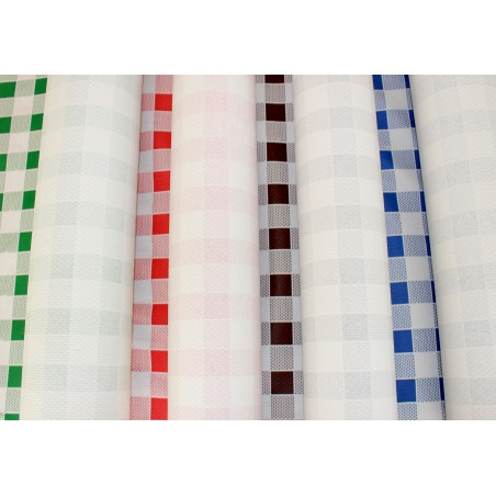 Rolle Papiertischdecke Kariert grün 1x100 Meterware 40g (1 Einh.)