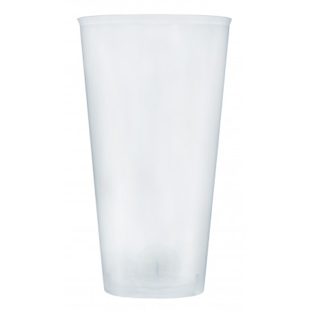 Transparente Plastikbecher für Cocktail 470ml (20 Einh.)