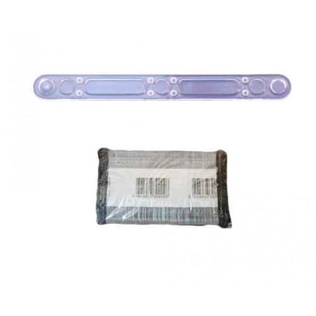 Paletina para Cafe 90mm Transparente (Paq.100 unidades)