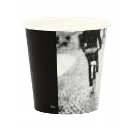 "Karton Kaffeebecher ""Parisian"" 4Oz/120 ml Ø6,2cm (50 Einh)"